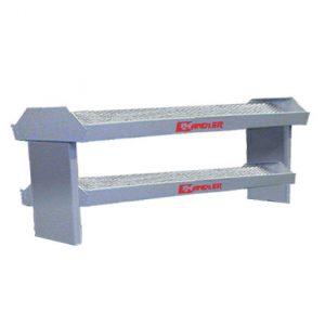 222DT Double-Sided Double Tier Work Shelf