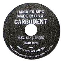 Carbo-Dent Replacement Wheels